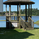 Venice On The Lake, Private Gazebo on Best RV Park on Lake Conrole, Willis TX